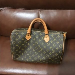 Louis Vuitton French Company 35 Speedy